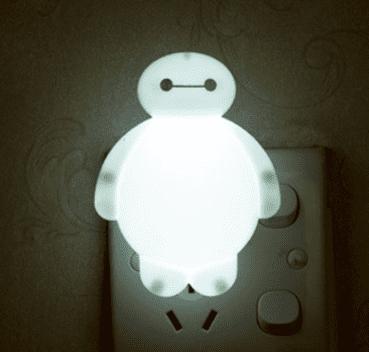 baymax lamp