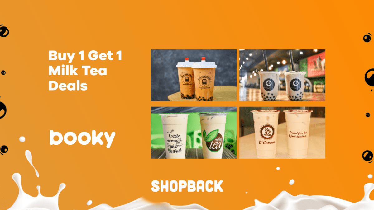 LIST: Booky Buy-1-Get-1 Milk Tea Deals to Satisfy Your Sweet Tooth
