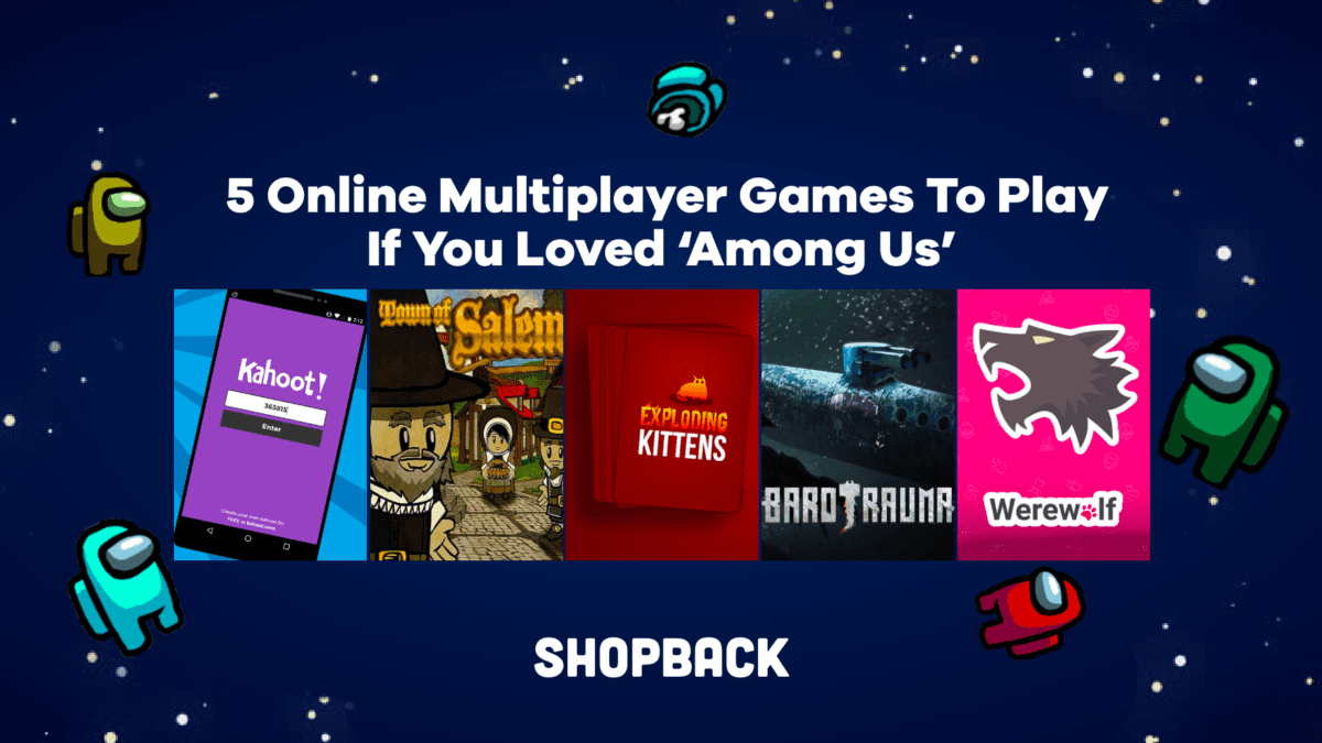 5 Online Multiplayer Games To Play If You Loved 'Among Us'