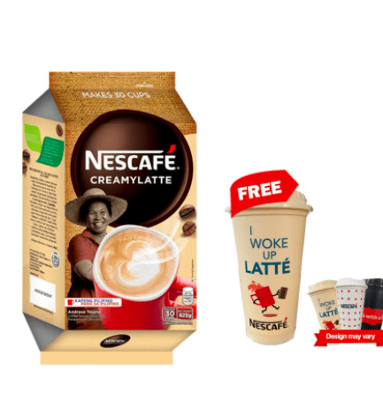 nescafe creamy latte