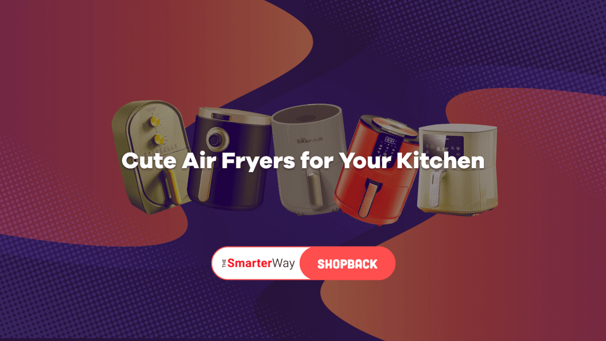 5 Cute Air Fryers to Enhance Your Kitchen Aesthetic