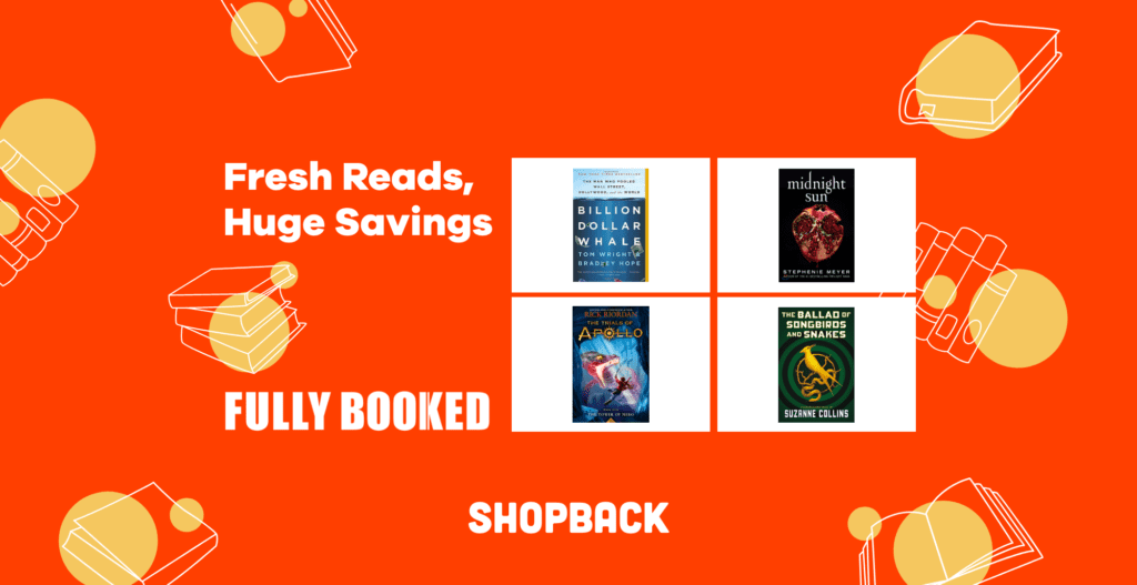 fully booked shopback sale discounts cashback
