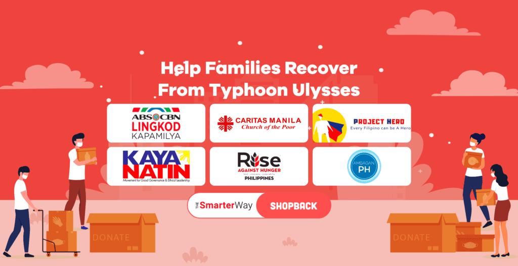 donate typhoon ulysses