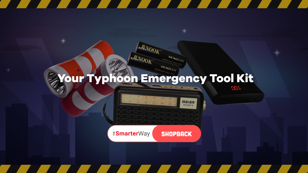8 Items You Need in Your Emergency Kit to Be 'Typhoon-Ready'