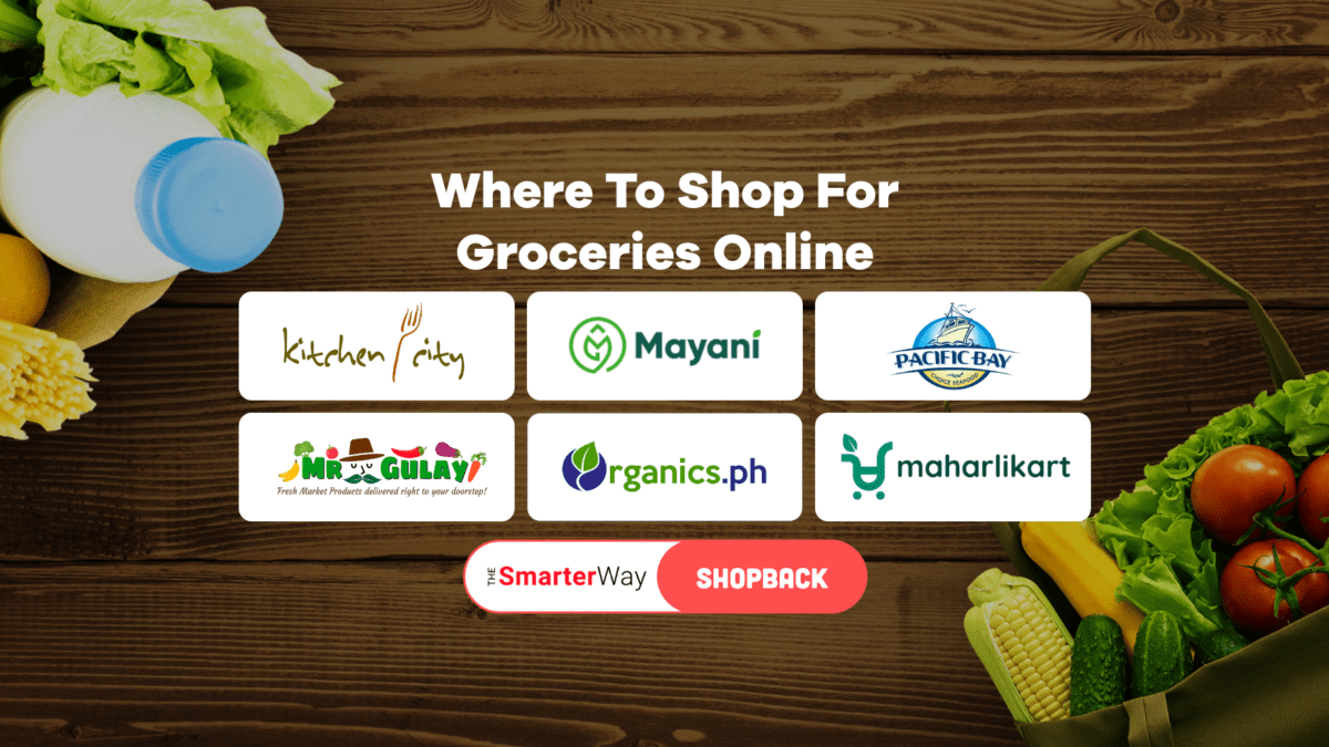 LIST: 6 Online Grocery Stores That Deliver in Metro Manila