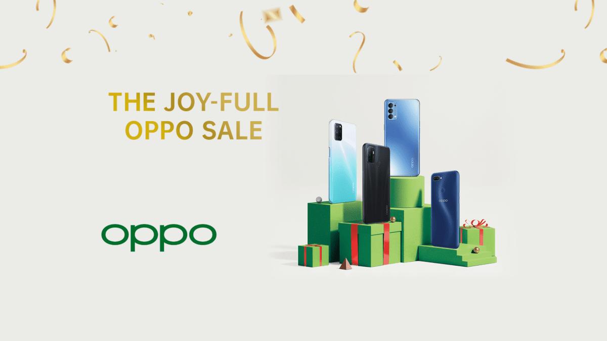 Kickstart Your Christmas Shopping with #OppoJoyFullSale this November 22