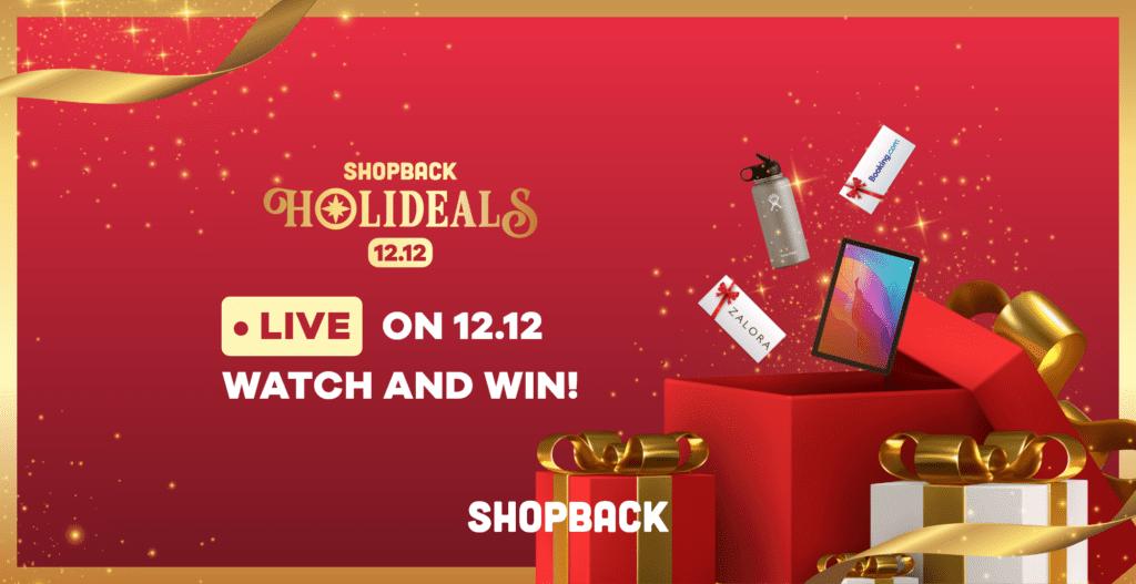shopback 12.12 sale holideals