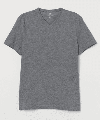 gray shirt zalora