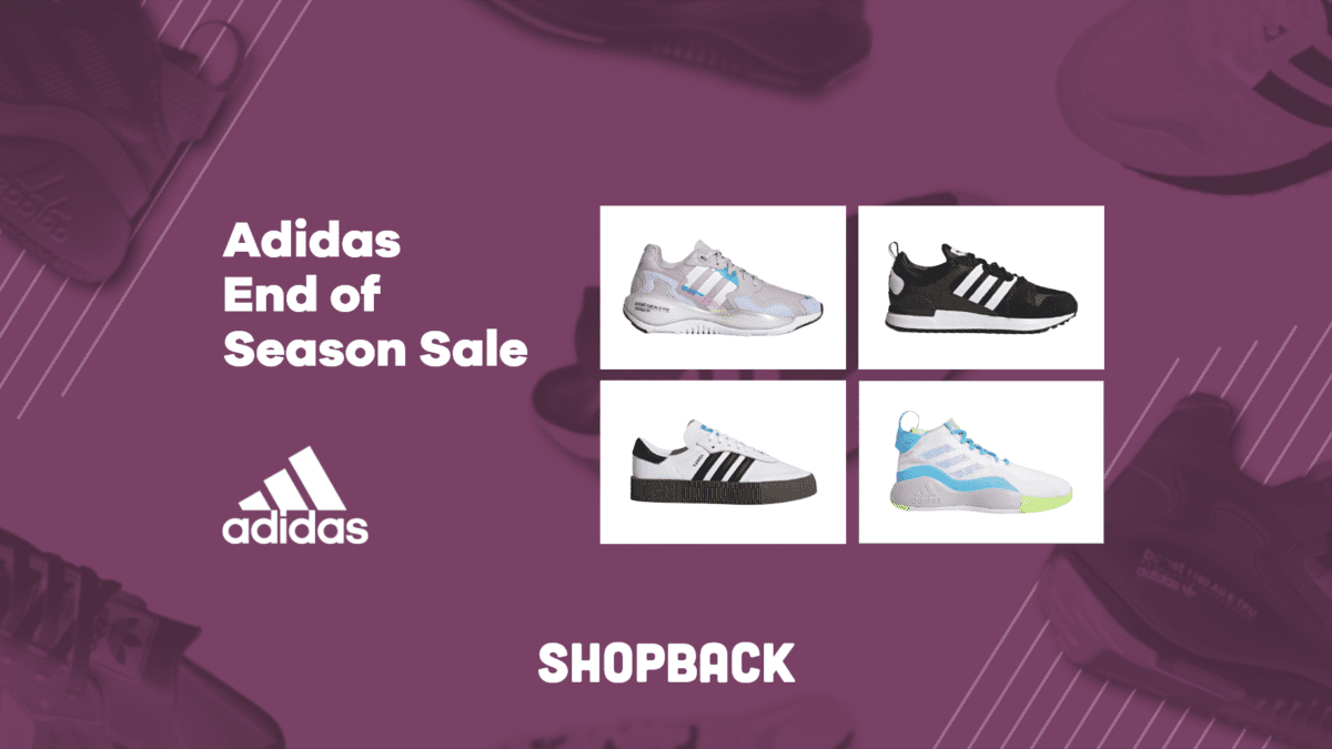 Score up to 30% off on Adidas sneakers from January 18-30!