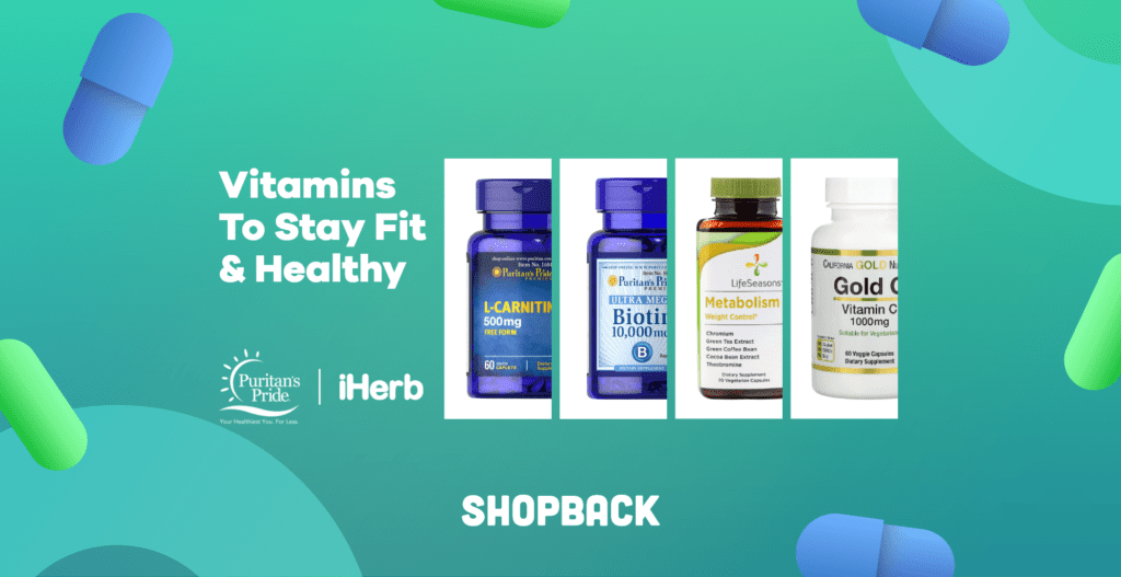vitamins to stay fit and healthy 2021