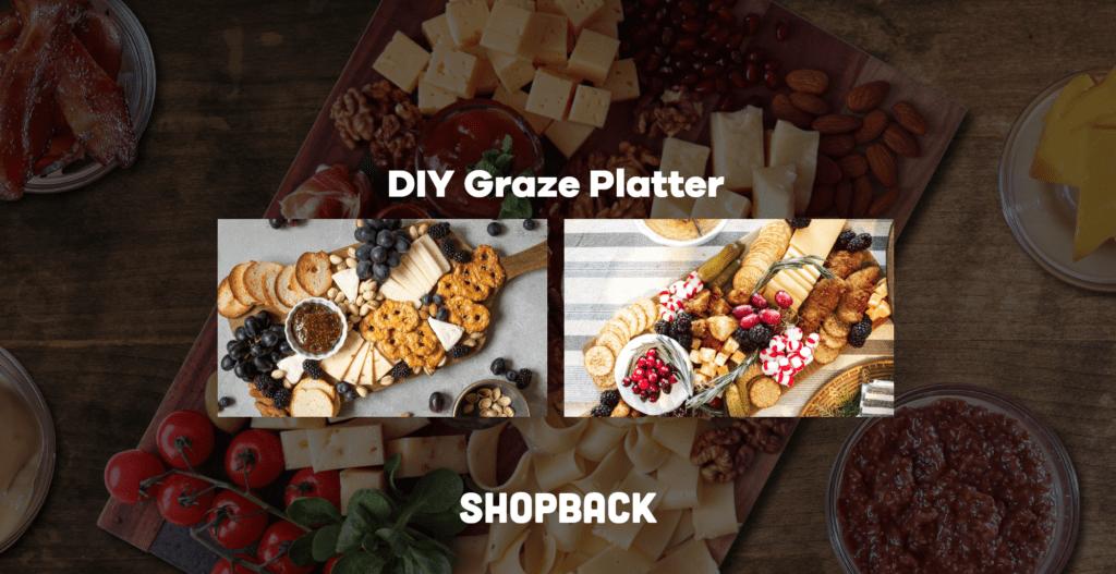 DIY graze platter DIY cheese board charcuterie board