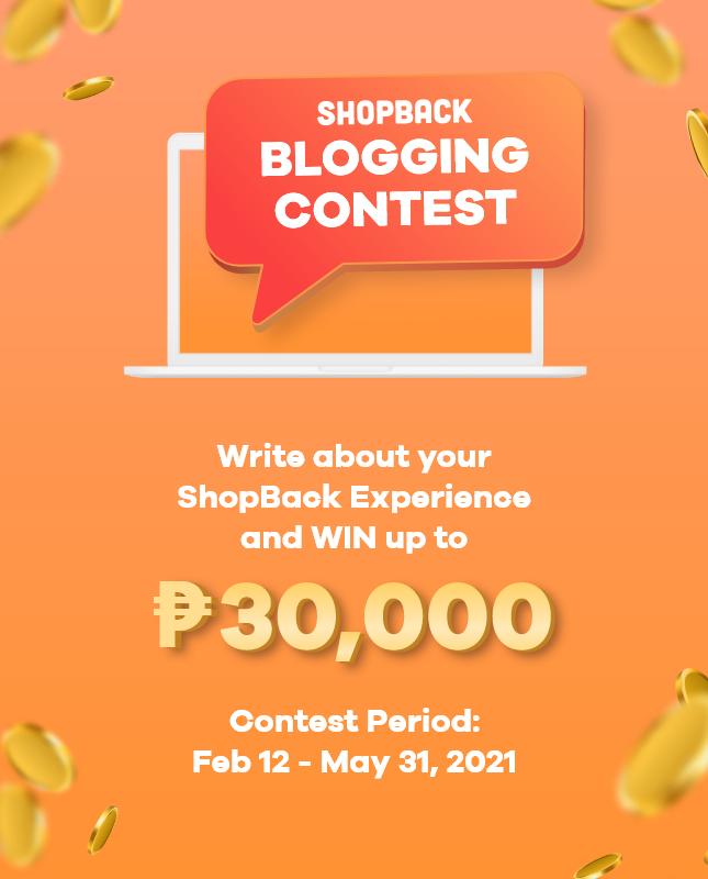 shopback blogging contest