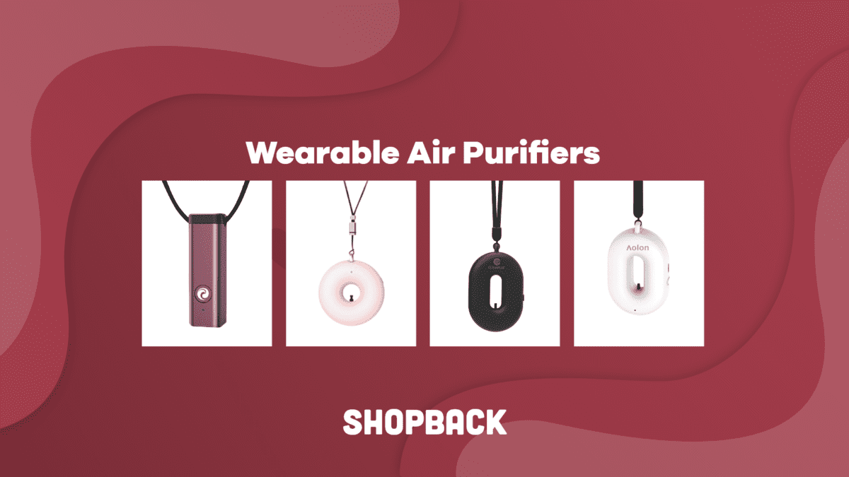 What is a wearable air purifier and where to buy one?