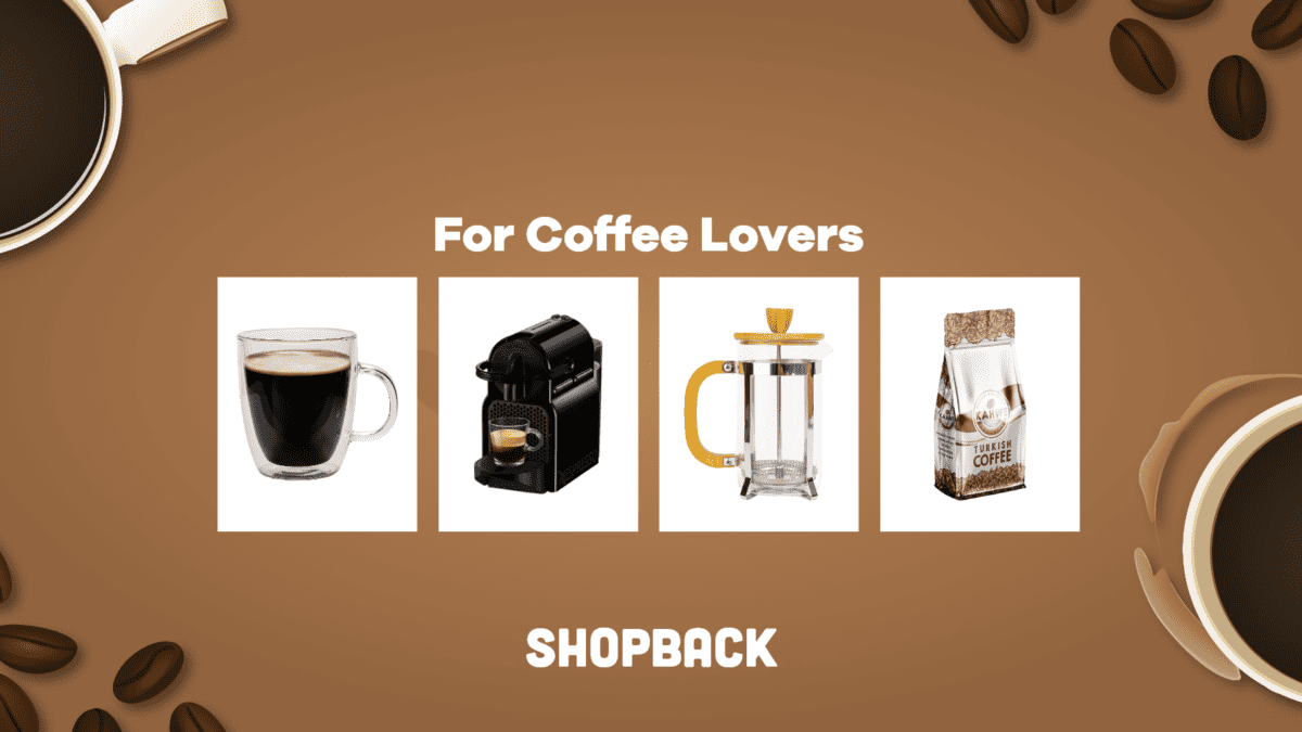 Love coffee? Be your own barista with these gadgets and accessories!