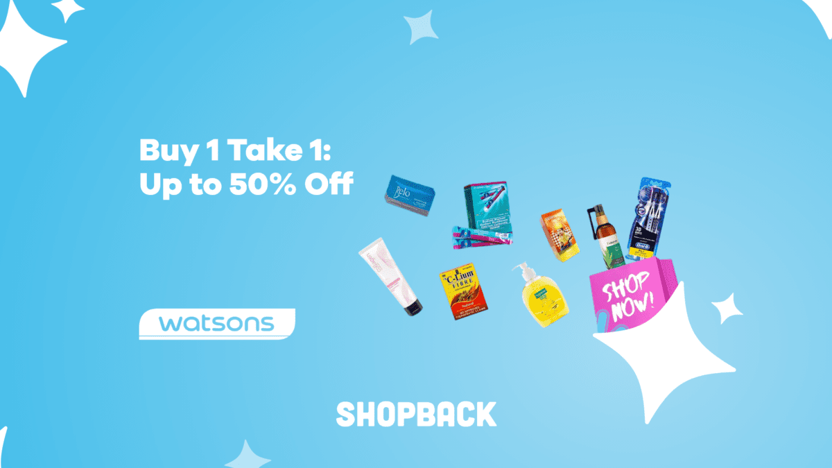 Heads up: Watsons is having a Buy 1 Take 1 Sale until Feb 28!