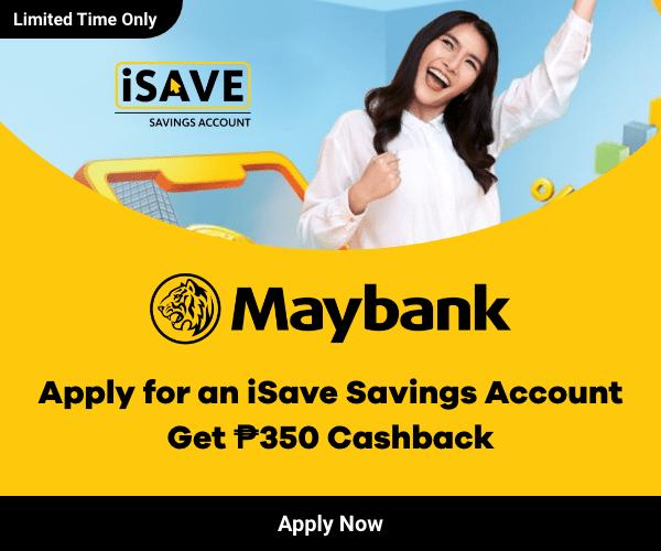 maybank isave account