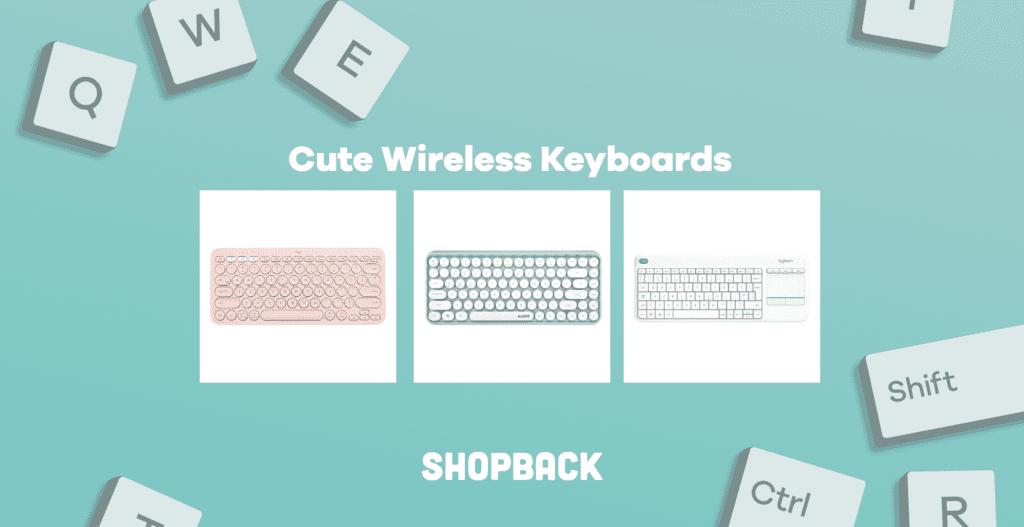 cute wireless keyboards