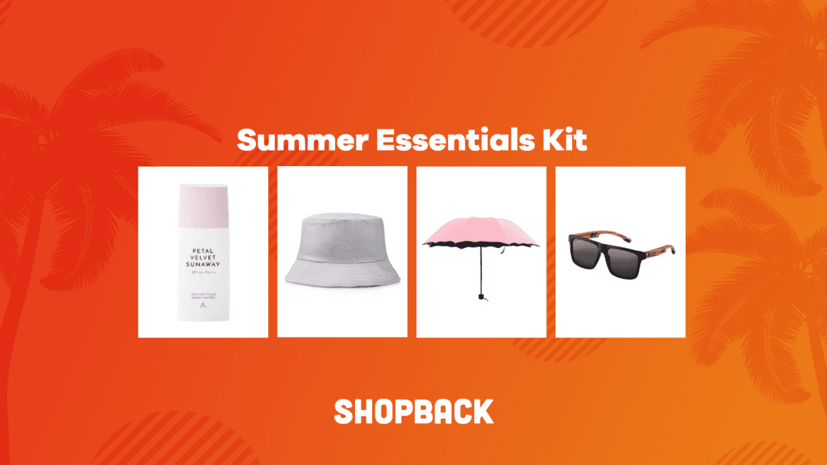 5 Items To Include In Your Summer Essentials Kit