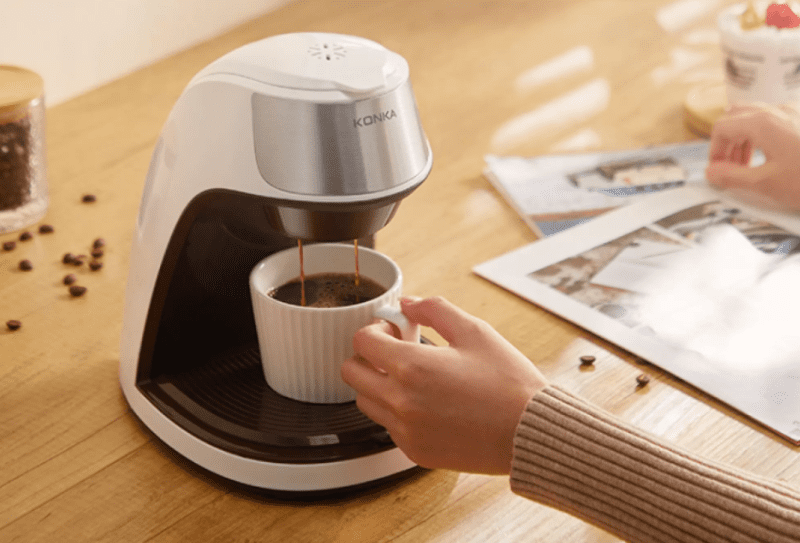 coffee maker aesthetic