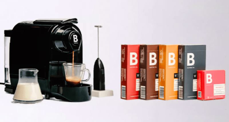 B coffee machine maker