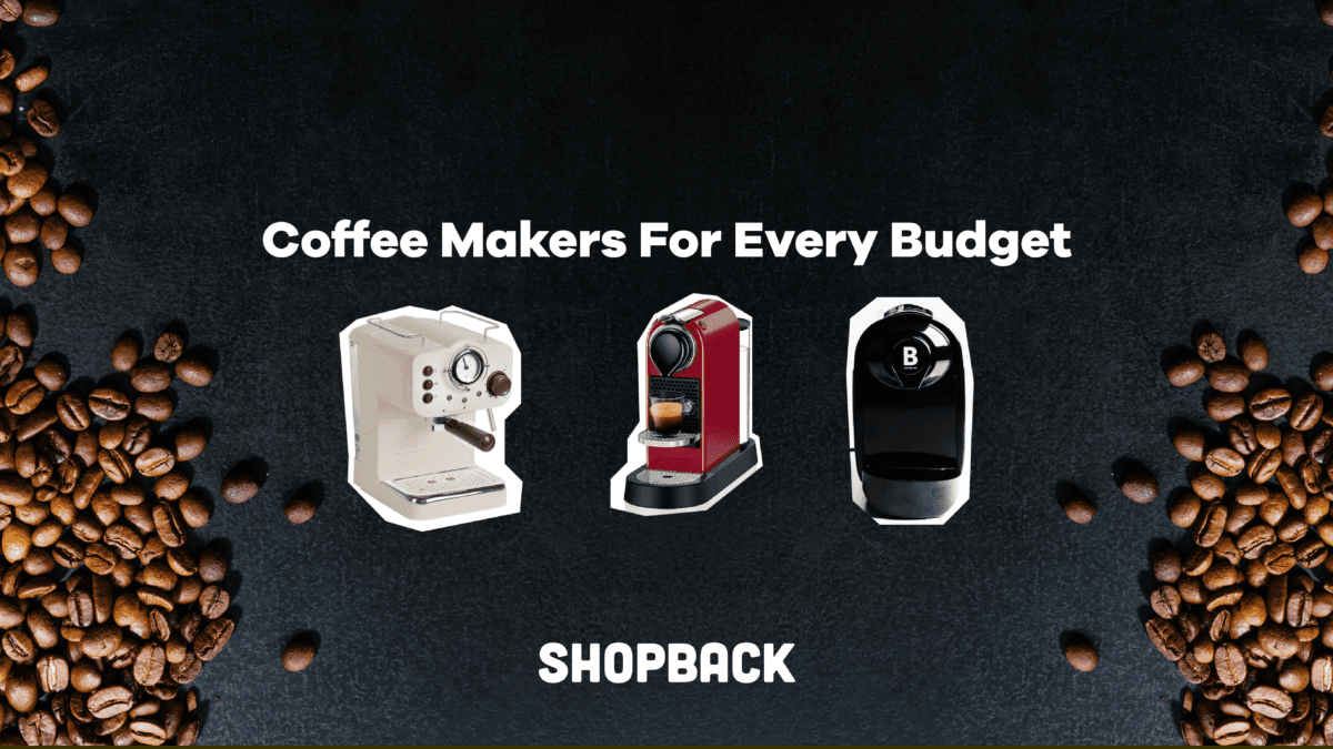 LIST: Four Cute Coffee Machines To Buy For Your Kitchen