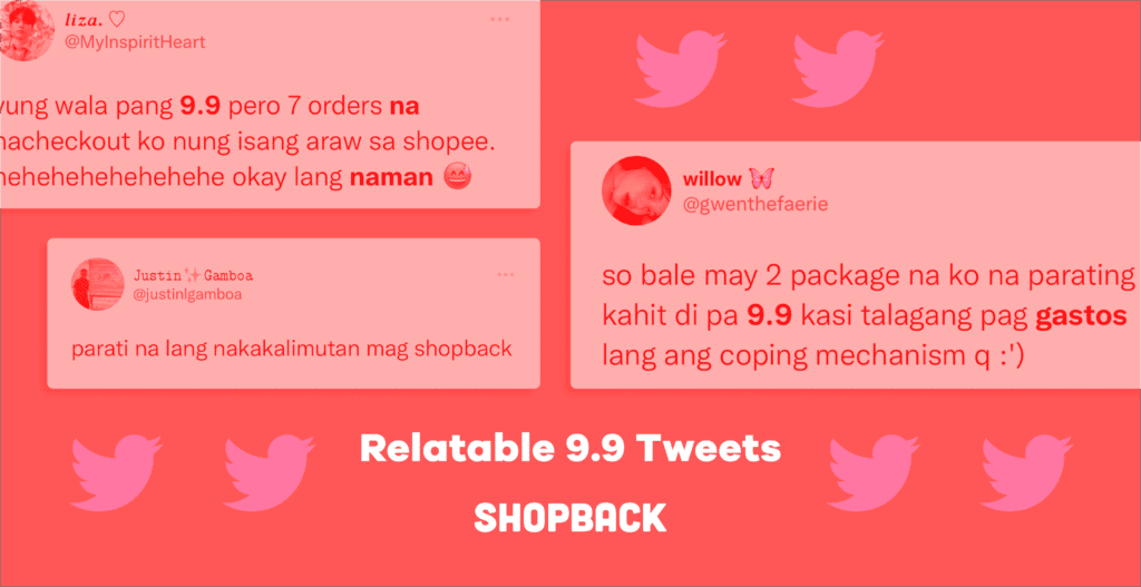funny 9.9 sale tweets