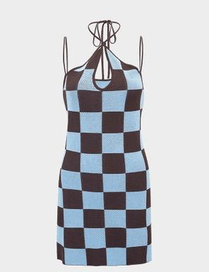 y2k checkered