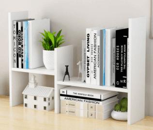 minimalist shelf rack