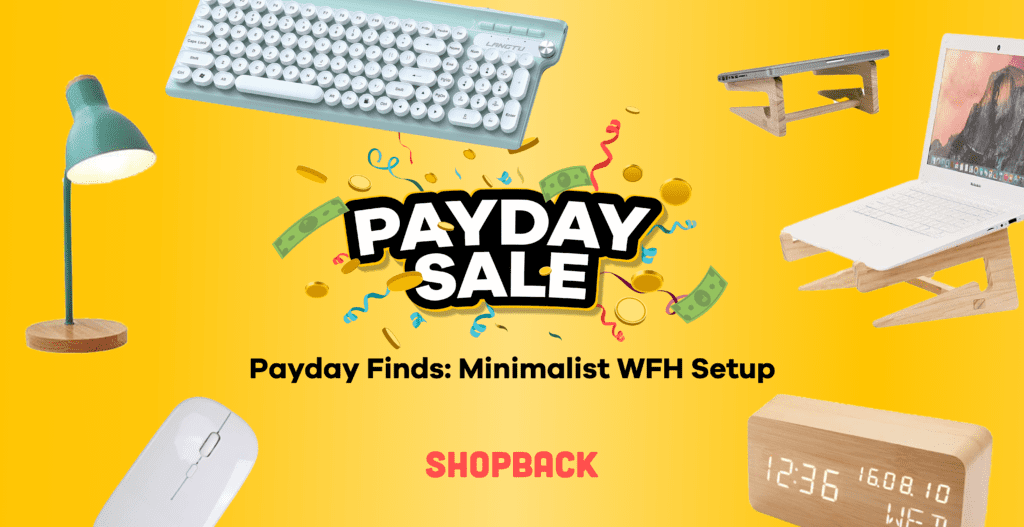payday sale minimalist wfh products