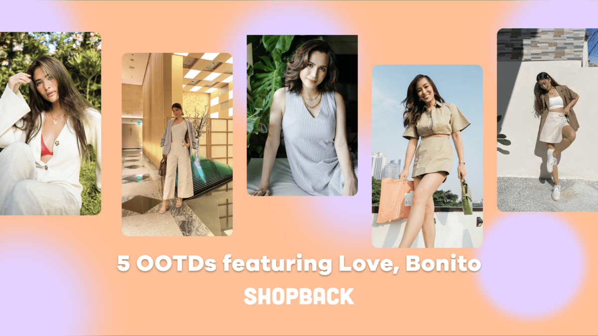5 OOTDs from your favourite influencers featuring Love, Bonito bestsellers