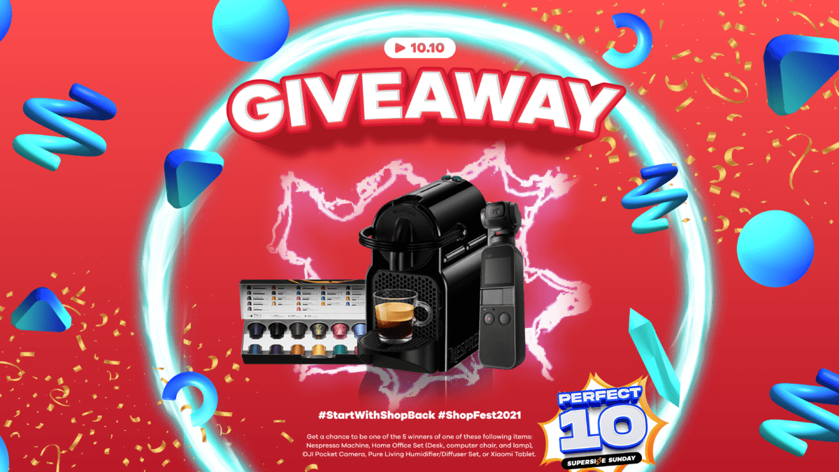 Want to win ₱10,000 worth of prizes from ShopBack? Here's how!