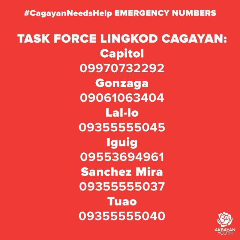 typhoon maring cagayan donation drive