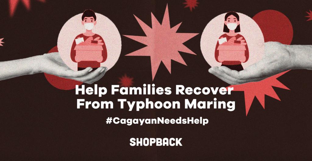 typhoon maring donation drive