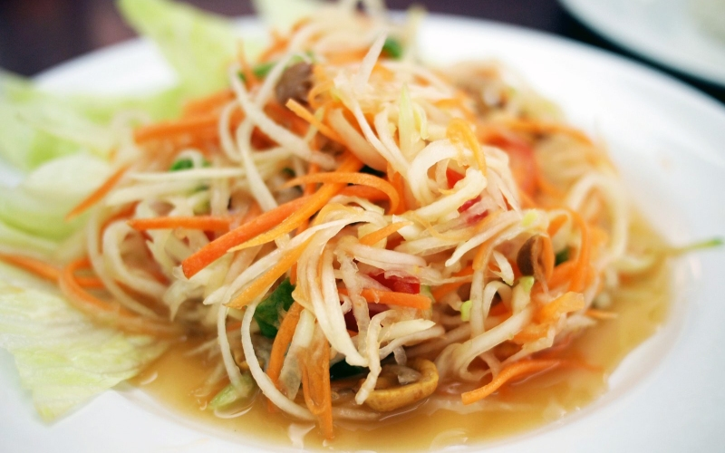 Green Papaya Salad_2
