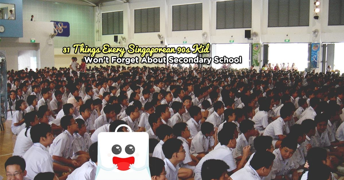 31 Things Singaporean 90s Kid Won't Forget About Secondary School