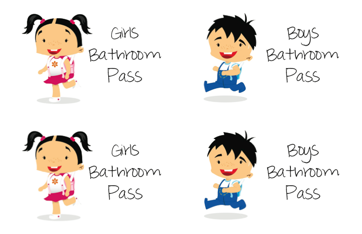 school bathrooms clipart. School Bathroom Passes Simple Bathrooms Clipart Excellent Elementary Pass E