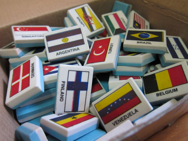 Country Erasers