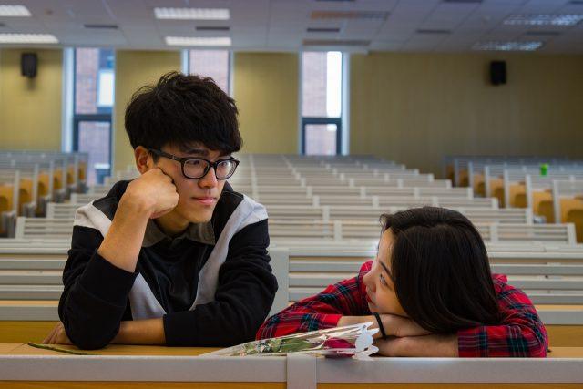 Campus romance