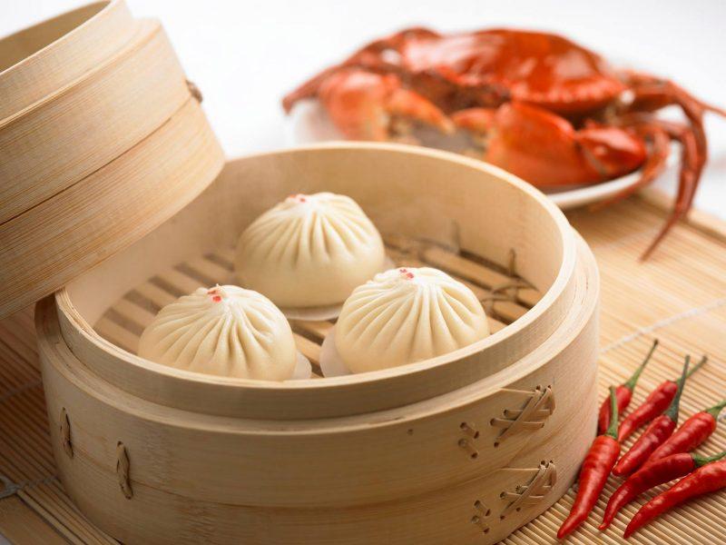 Din Tai Fung Chilli Crab Xiao Long Bao