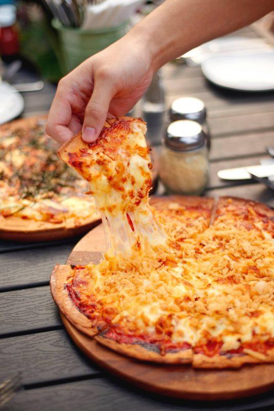 Atmosphere Bistro Chilli Crab Pizza