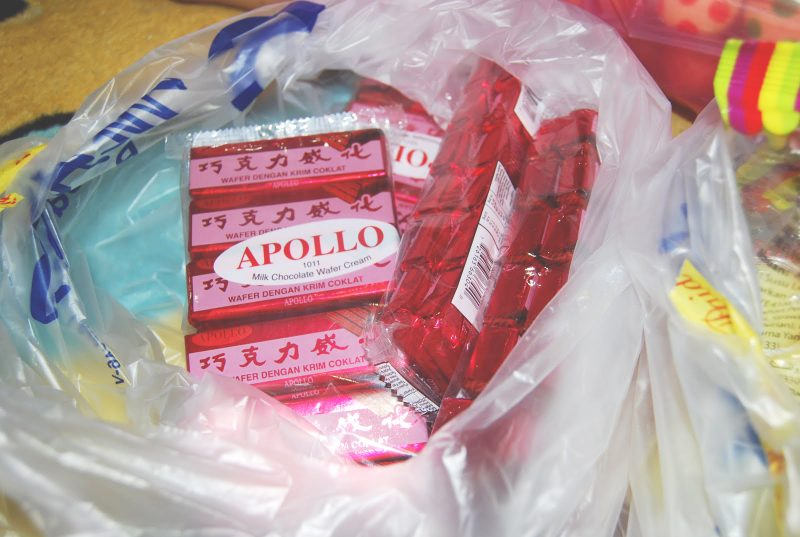 Apollo Chocolate Wafer Biscuit