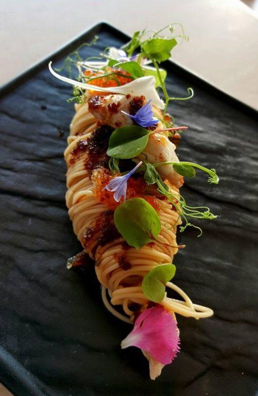 Horizon Bistronomy Punggol Chilled Crab Meat Angel Hair
