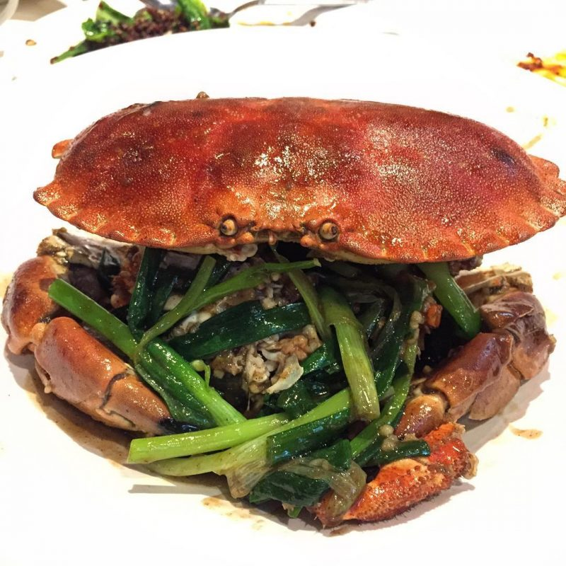 No Signboard Seafood Restaurant Best White Pepper Crab