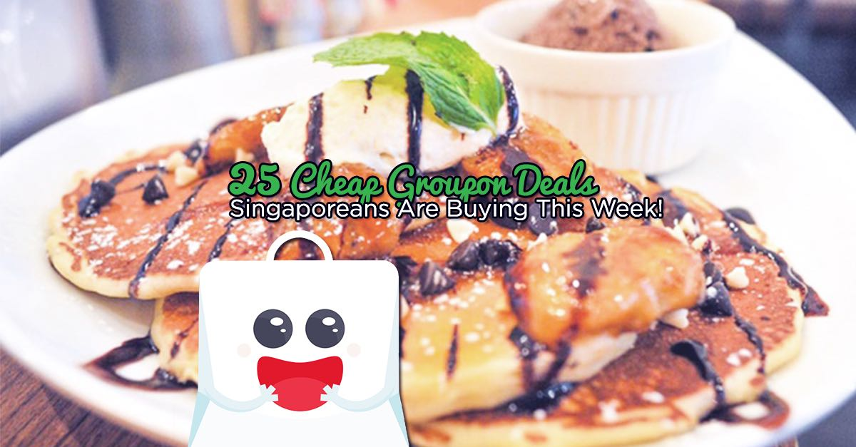25 Cheap Fave by Groupon Deals Singaporeans Are Buying This Week!