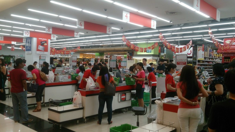 FairPrice_Supermarket,_Nex,_Singapore_-_20140216
