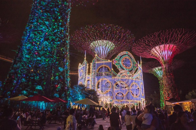 gardens by the bay christmas