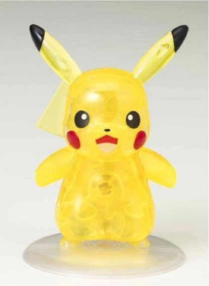 Crystal Puzzle Pikachu