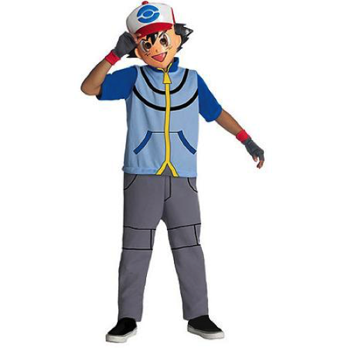 Pokemon Ash child dress-up costume
