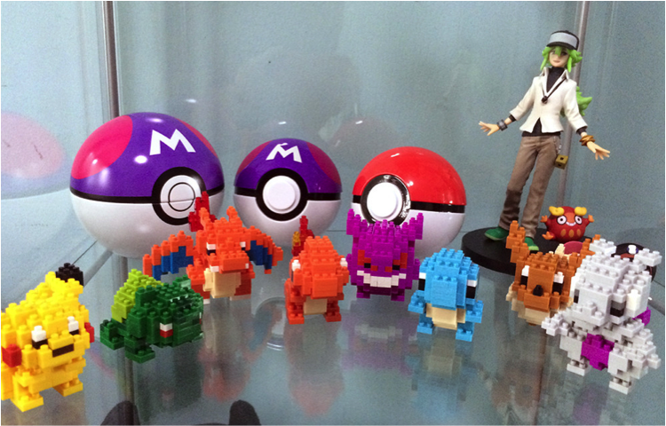 Pokemon X Assorted Nanoblocks