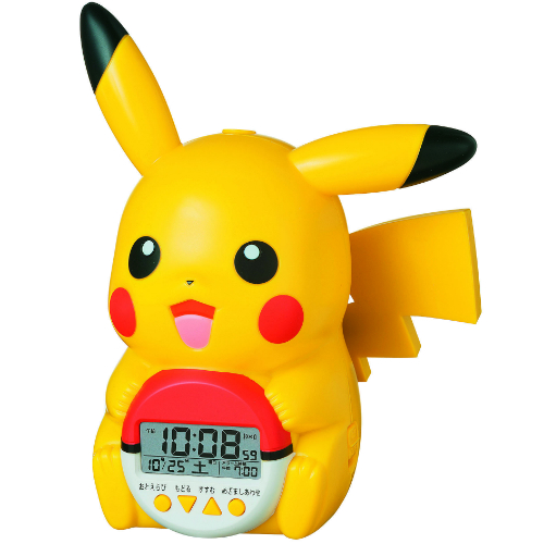 Seiko Pokemon Pikachu Alarm clock